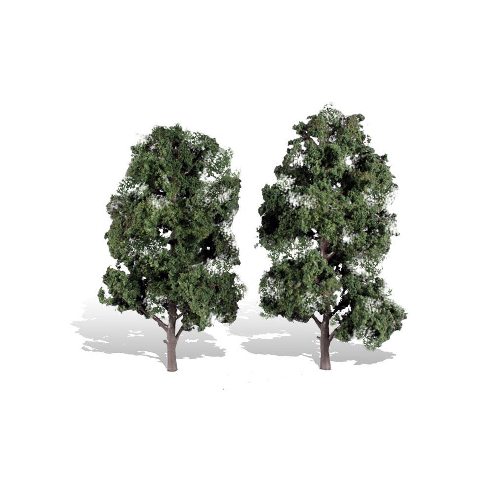 落葉樹 20.3〜22.8cm 2本 :ウッドランド 完成品 ノンスケール 3521