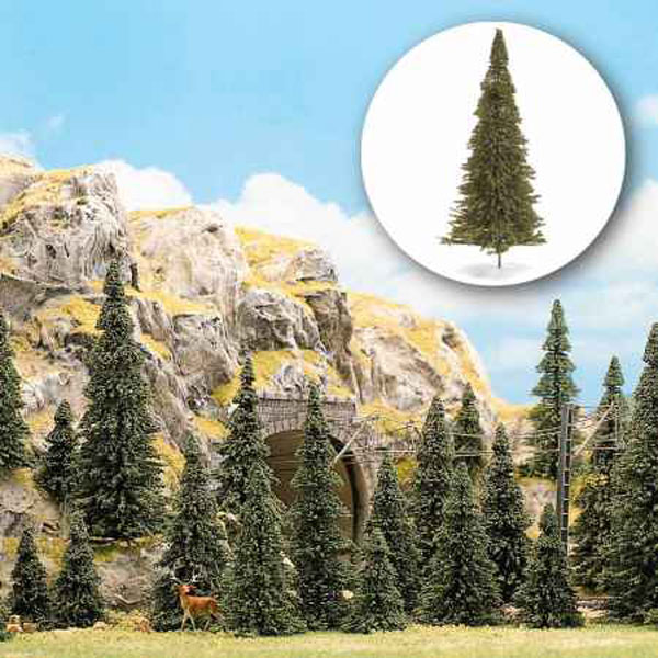 モミの木 3〜6cm  30本入り :ブッシュ 完成品  6571