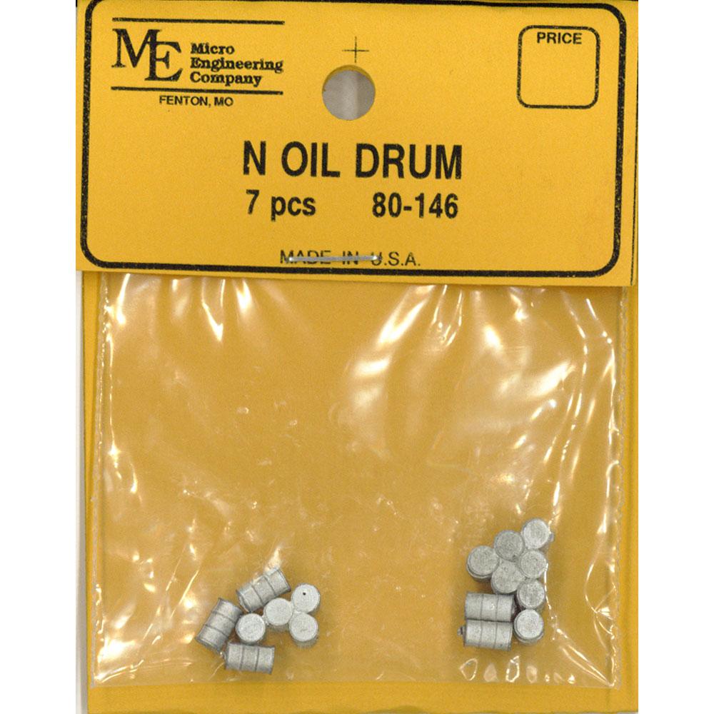 ドラム缶セット :マイクロエンジニアリング 未塗装キット N(1/160) 80146