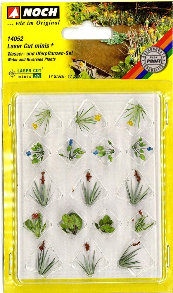 水辺の植物 17束 :ノッホ 植物素材 ノンスケール 14052