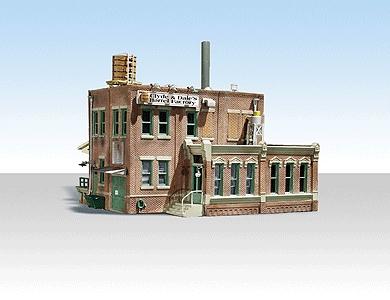 クライドとデールの樽工場 【LED付き】 :ウッドランド 塗装済完成品 N(1/160) BR4924