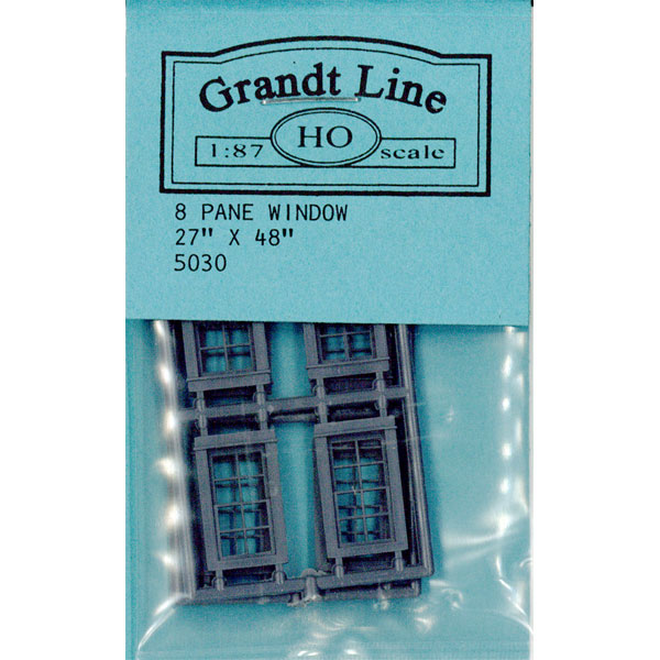 洋風窓 窓枠 :グラントライン 未塗装キット(部品) HO(1/87) 5030