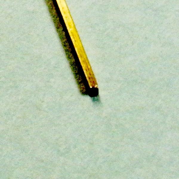 洋白 角線 0.6mmX0.6mm :さかつう 素材 ノンスケール 4621