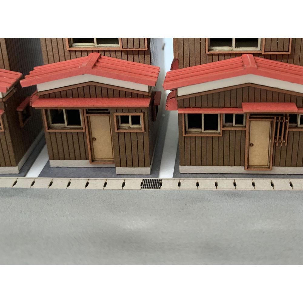 側溝の蓋 :梅桜堂 N(1/150) 未塗装キット AC-016-15C
