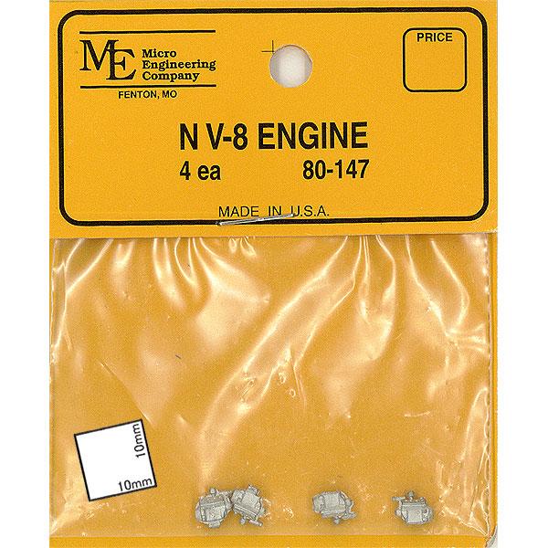 V8エンジン :マイクロエンジニアリング 未塗装キット N(1/160) 80147