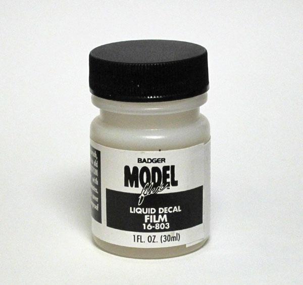 モデルフレックス・リキッド・ディカール・フィルム :バジャー社製 塗料 16-803