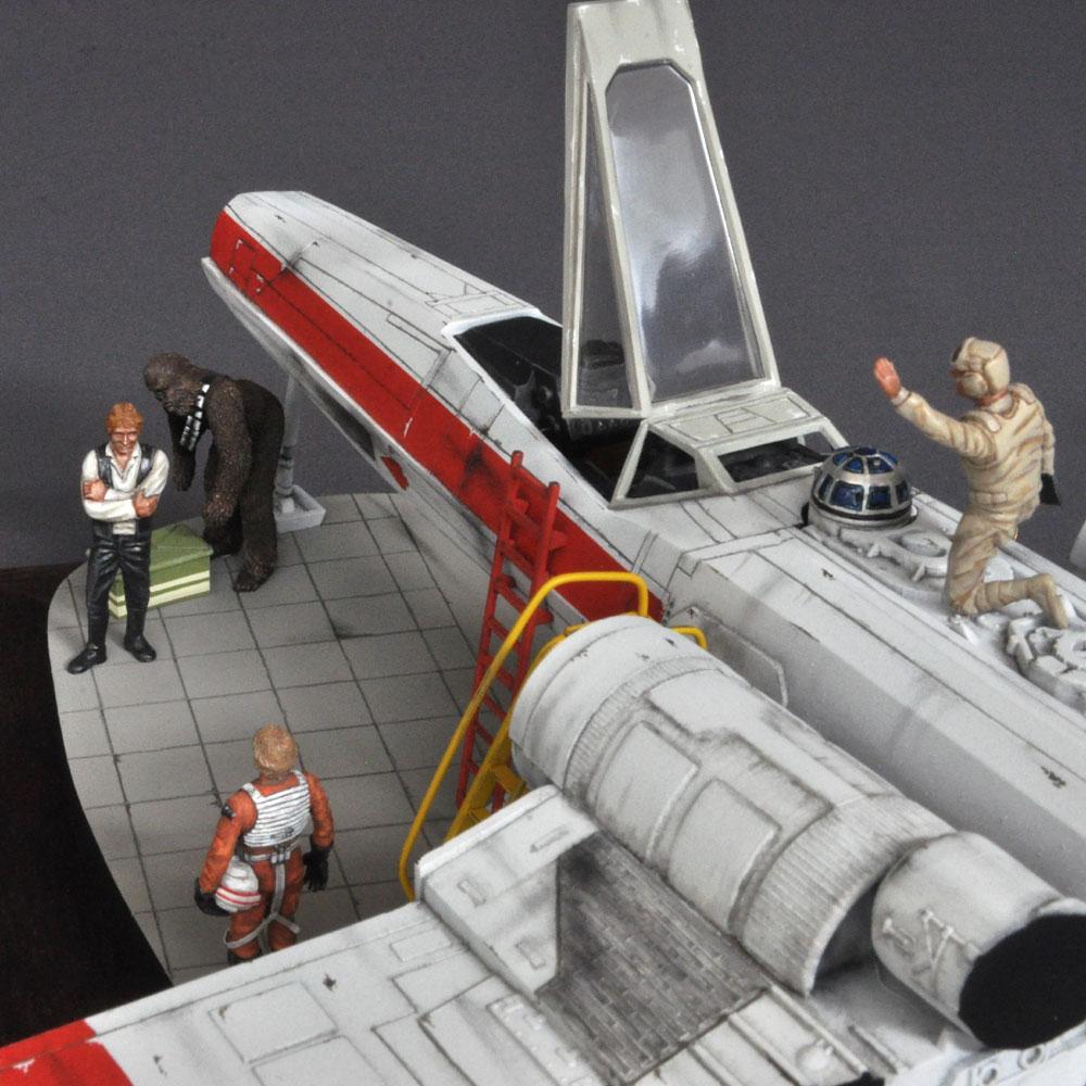 X-Wing Fighter Xウィング :淺木紳士郎 塗装済完成品 1/48
