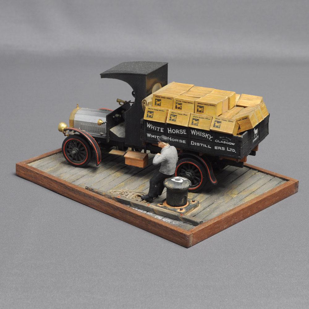 「ウイスキー運搬車」 :西村慶明 バス&トラック作品 1/32scale