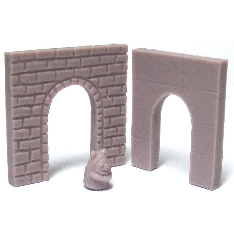 歩行者用トンネル :YSK 未塗装キット N(1/150) 品番338
