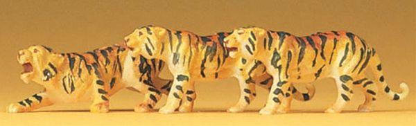 トラ 3頭 :プライザー 塗装済完成品 HO(1/87) 20380