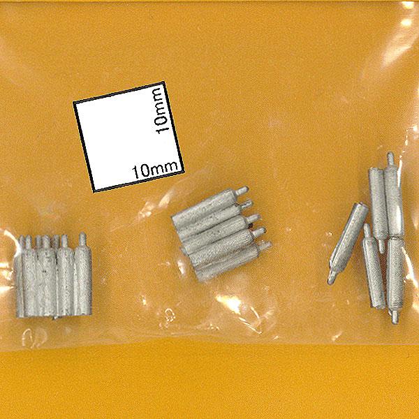 アセチレンガスボンベ :マイクロエンジニアリング 未塗装キット N(1/160) 80148