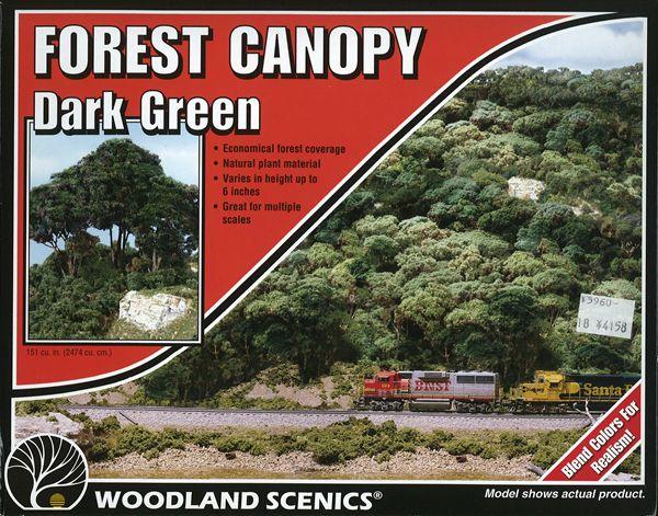 森の中心 キット 深緑(ダーク・グリーン) :ウッドランド 素材 ノンスケール 1662
