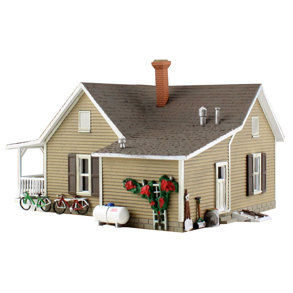 おばあちゃんの家 :ウッドランド 塗装済完成品 N(1/160) BR4926