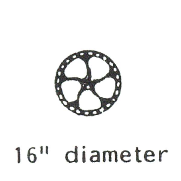 D&RGW ブレーキホイール :グラントライン 未塗装キット HO(1/87) 5037