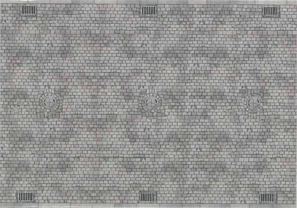 レンガ地 :ブッシュ 素材 HO(1/87) 7417