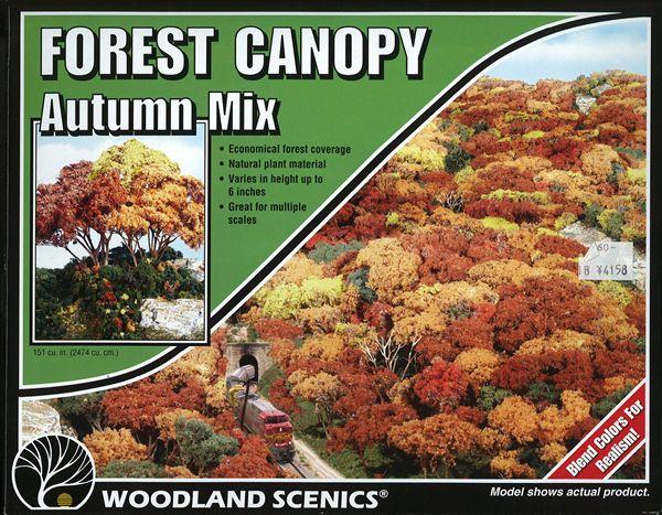 森の中心 キット 紅葉(オータム・ミックス) :ウッドランド 素材 ノンスケール 1663