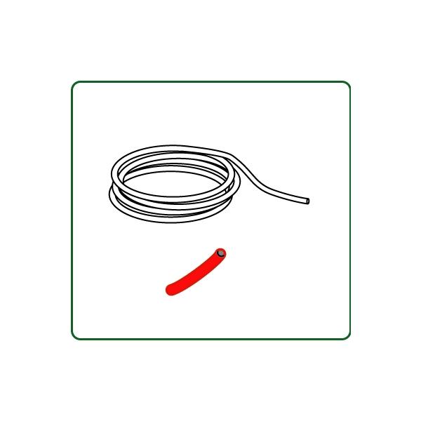 コード 外径約0.8mm 赤色 :さかつう 素材 ノンスケール 4516