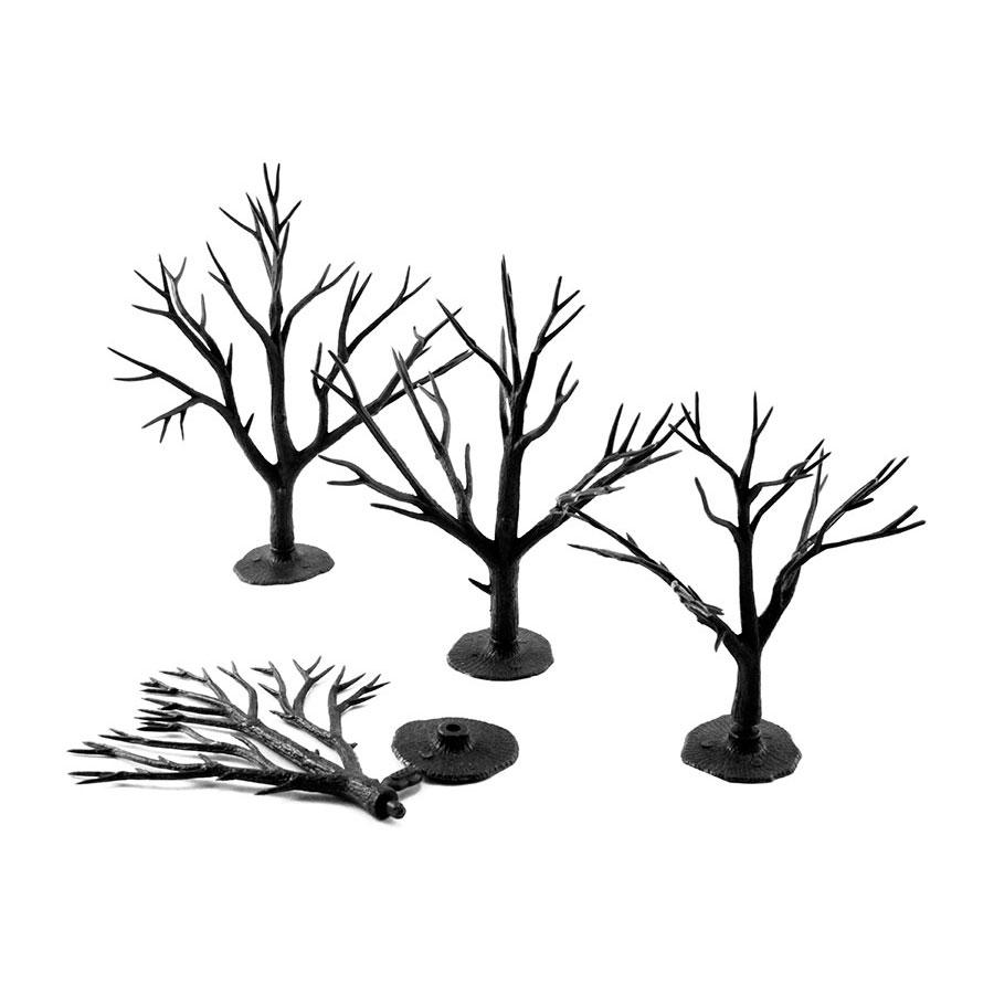 樹木組み立てキット 7.6〜12.7cm 28本入り :ウッドランド 素材 ノンスケール TR1122