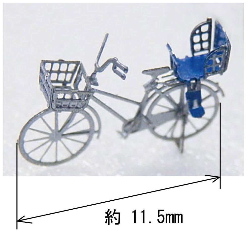 【模型】 自転車 ※こばる同等品 :さかつう 未塗装組み立てキット N(1/150) 3831