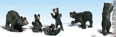 熊 :ウッドランド 塗装済完成品 HO(1/87) 1885