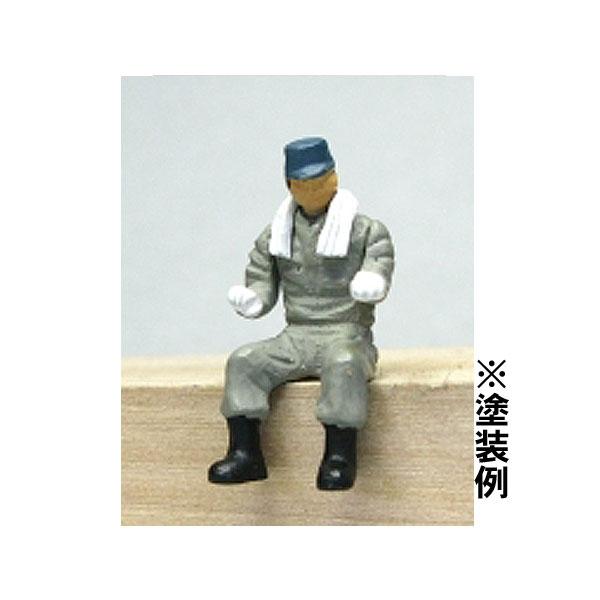 Oゲージフィギュア 運転士A :モリタ 未塗装キット 1/45スケール  No.901