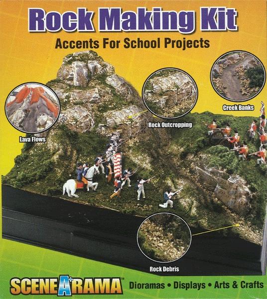 岩肌キット ノンスケール(ROCK MAKING KIT) :ウッドランド キット ノンスケール 4121