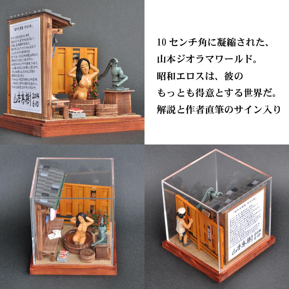 昭和色模様 行水の女 :山本高樹 塗装済完成品 1/25