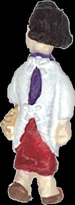 さかつう人形シリーズまなべコレクション ケン坊のお母さん :さかつう 塗装済完成品 HO(1/87) 7505