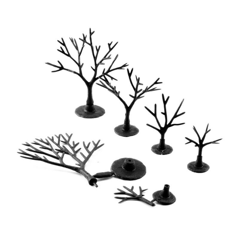 樹木組み立てキット 1.9〜5.1cm 114本入り :ウッドランド 素材 ノンスケール TR1120