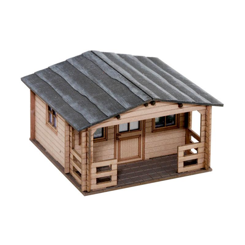 庭小屋 :ノッホ 組み立てキット HO(1/87) 14361