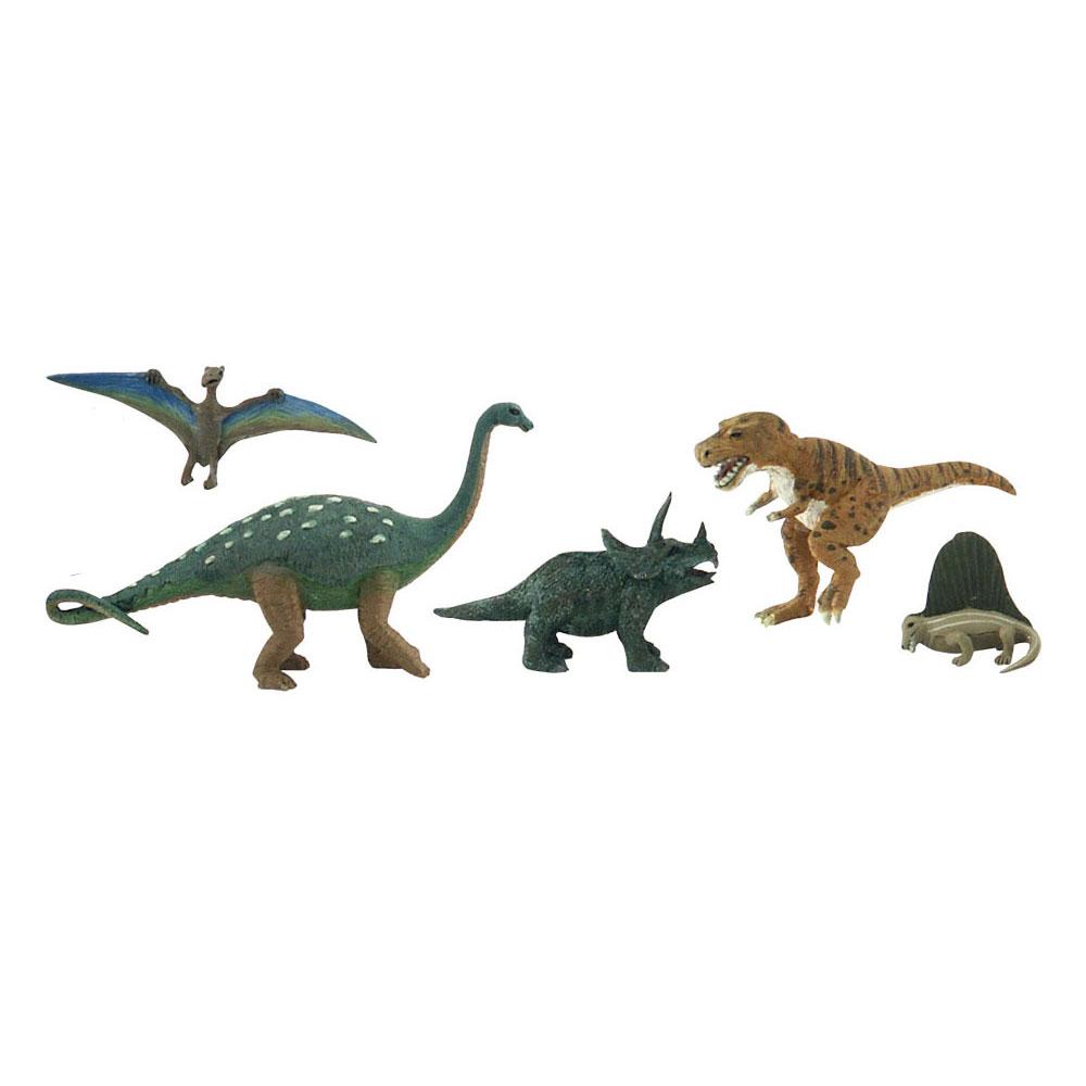 恐竜 5体セット :ウッドランド 塗装済完成品 ノンスケール SP4450