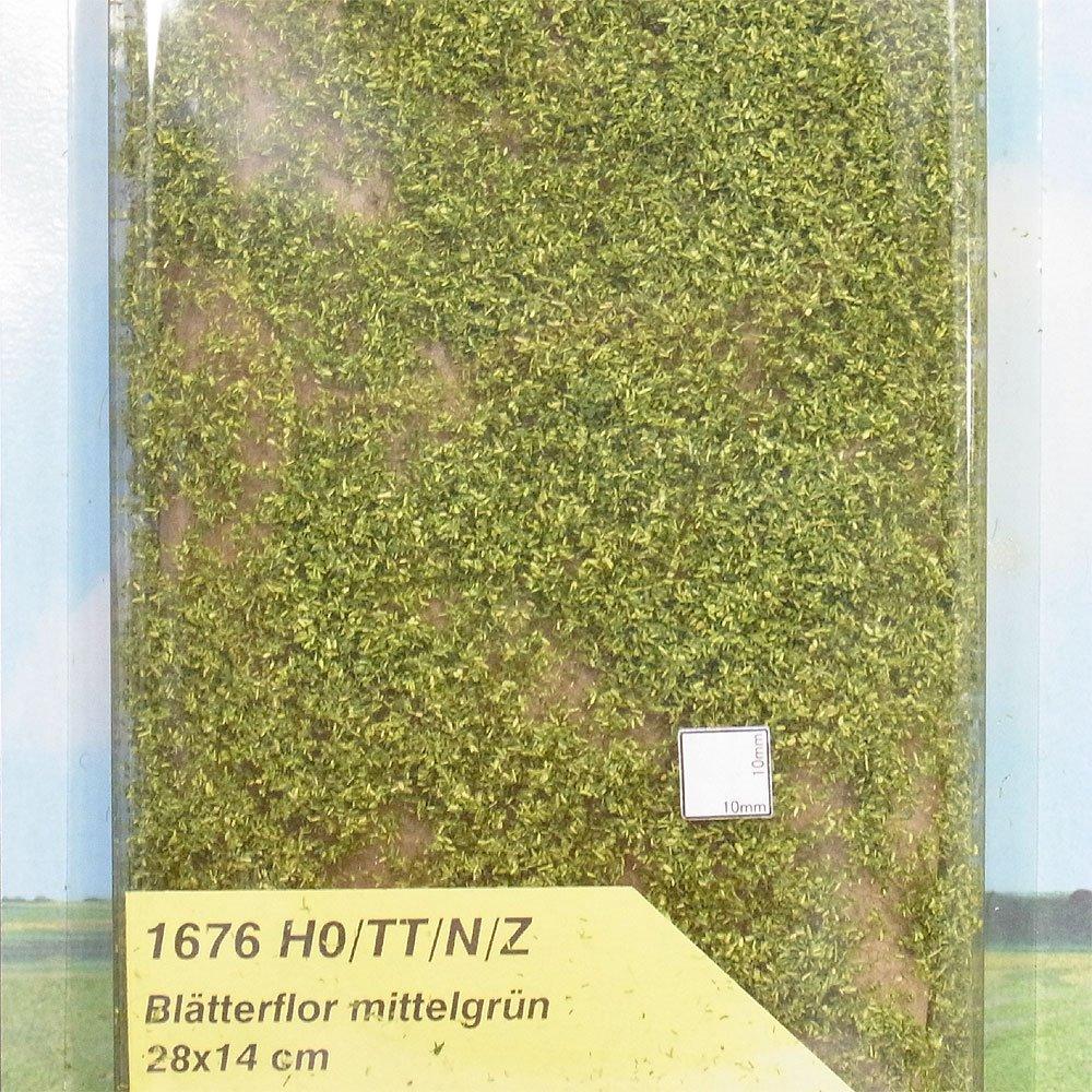スポンジ系素材 リーフ・フォーリッジ 【ミディアム・グリーン】 :ヘキ 素材 ノンスケール 1676