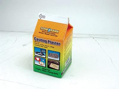 石膏(CASTING PLASTER) 小 :ウッドランド 素材 ノンスケール SP4141