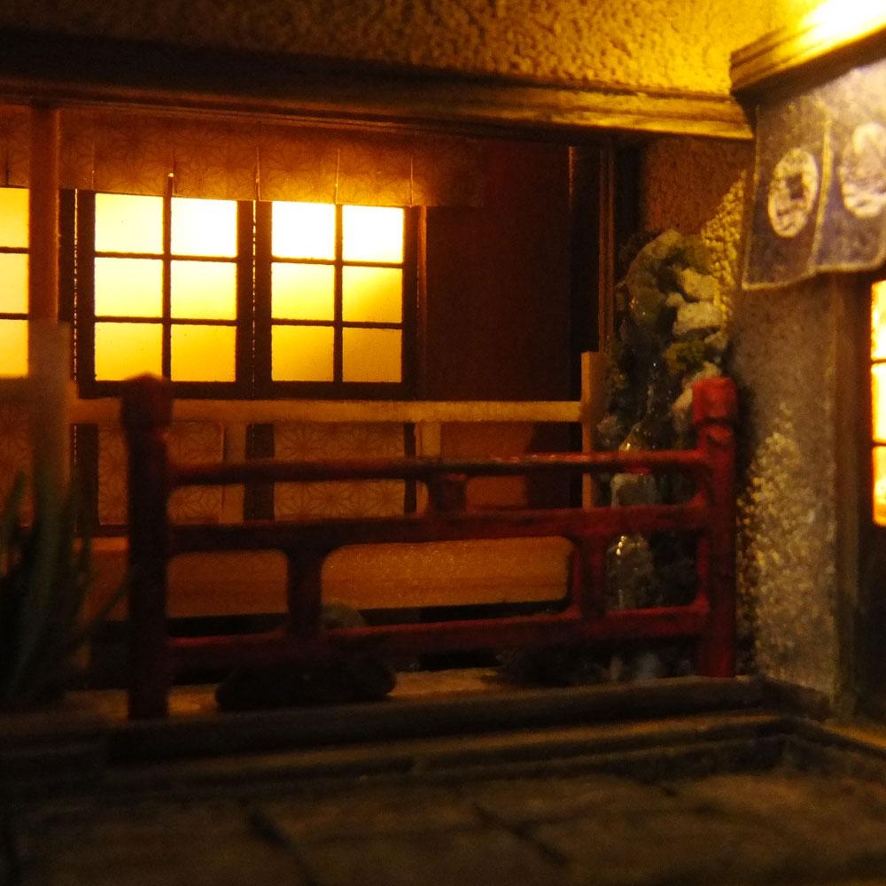 90ミリキューブミニチュア 「京懐石たまゆら」 :太郎 塗装済完成品 ノンスケール