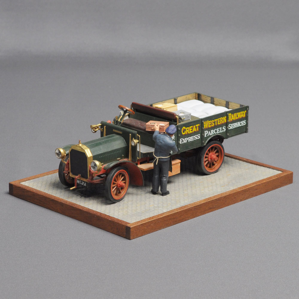 「イギリスの宅急便」 :西村慶明 バス&トラック作品 1/32scale