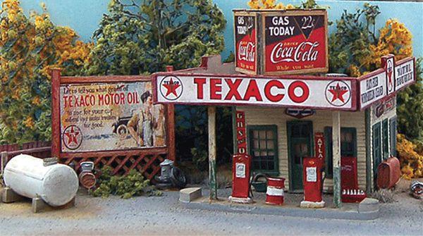バッドスマイリーのガソリンスタンド :バーミルズ 未塗装キット HO(1/87) 102