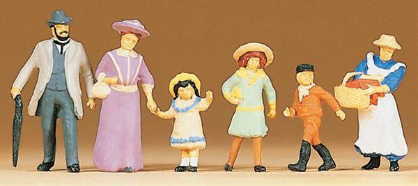 古い時代の家族 :プライザー 塗装済完成品 HO(1/87) 12132