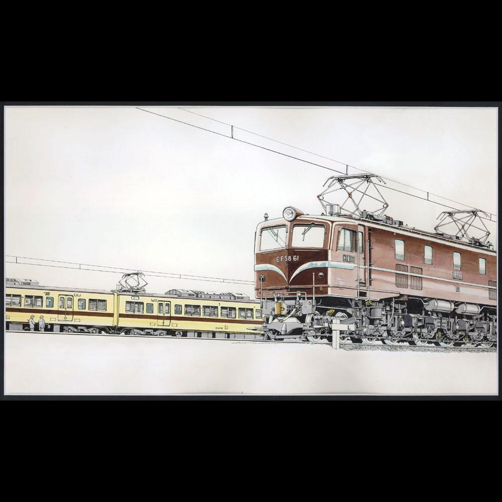 原画「高槻」 :西村慶明 イラスト作品