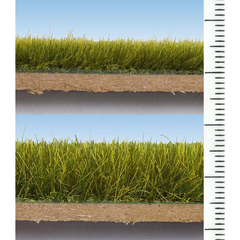 グラスマスター用繊維系素材 スタティックグラス 12mm 牧草色 40g :ノッホ 素材 ノンスケール 7110