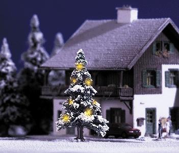 クリスマスツリー :ブッシュ 完成品(LEDセット済み) N(1/160) 5410