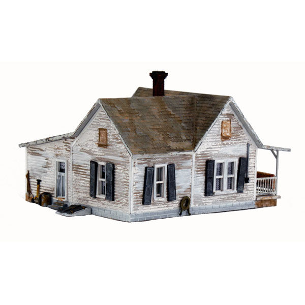 オールドホームステッド(古い家屋敷) :ウッドランド 塗装済完成品 N(1/160) BR4933