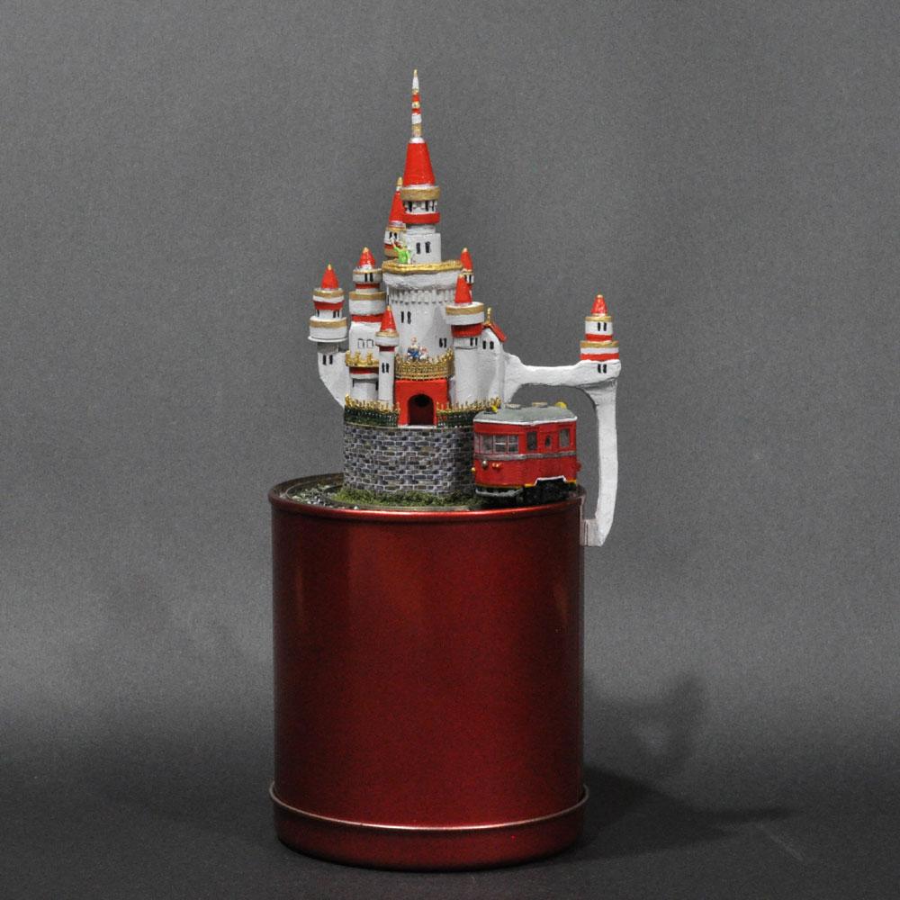 ミニミニレイアウト#3 「キャッスルライン」 :石川宜明 塗装済完成品 1/150サイズ