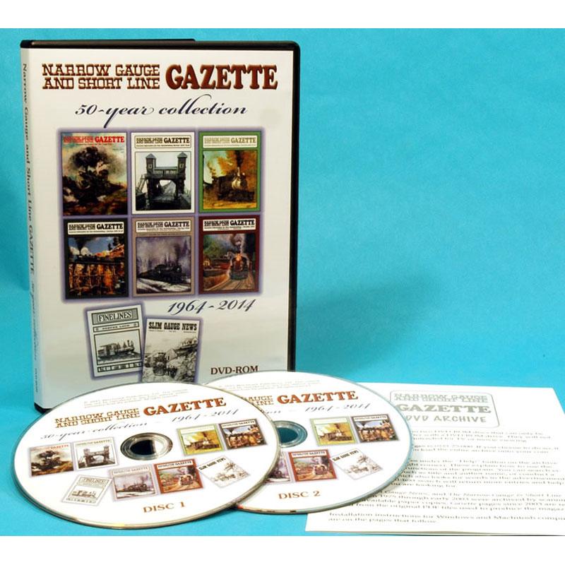 ナローゲージ&ショートライン ガゼット 50年コレクション :ベンチマーク出版 DVD