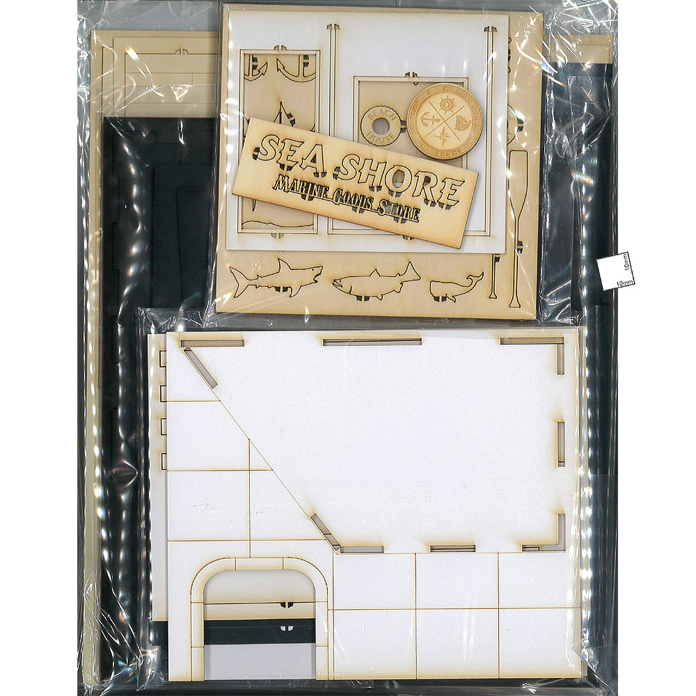 マリングッズストアー :コバーニ 未塗装キット 1/32〜1/35スケール SA-001