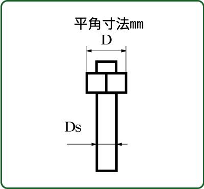 六角ボルト/ナット 平径1.0mm :さかつう ディテールアップ ノンスケール 4501