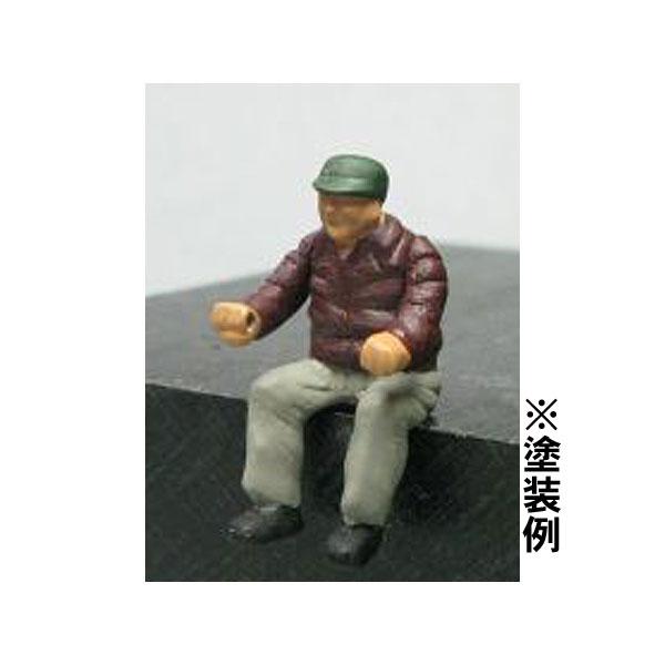 Oゲージフィギュア 運転手 OA-100 :ペアーハンズ(モリタ) 未塗装キット 1/45スケール  No.923