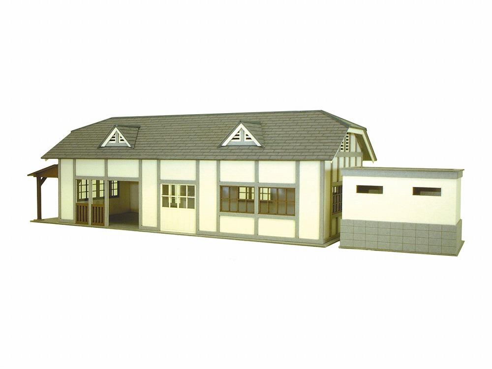 駅舎-3 :さんけい キット HO(1/87) MK05-12