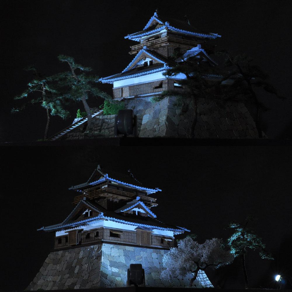 丸岡城 :伊藤敏男 塗装済完成品 N(1/150)