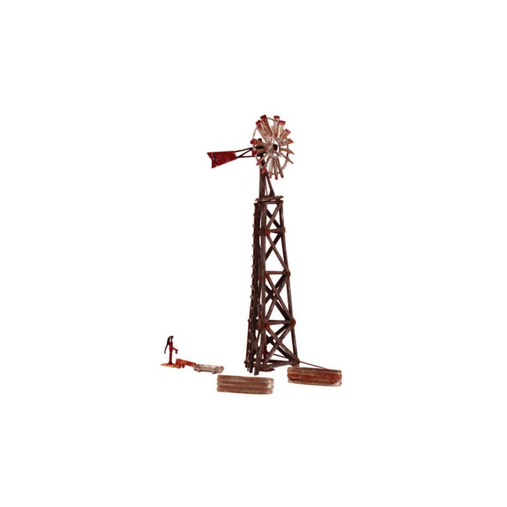 古びた風車 :ウッドランド 塗装済完成品 N(1/160) BR4936