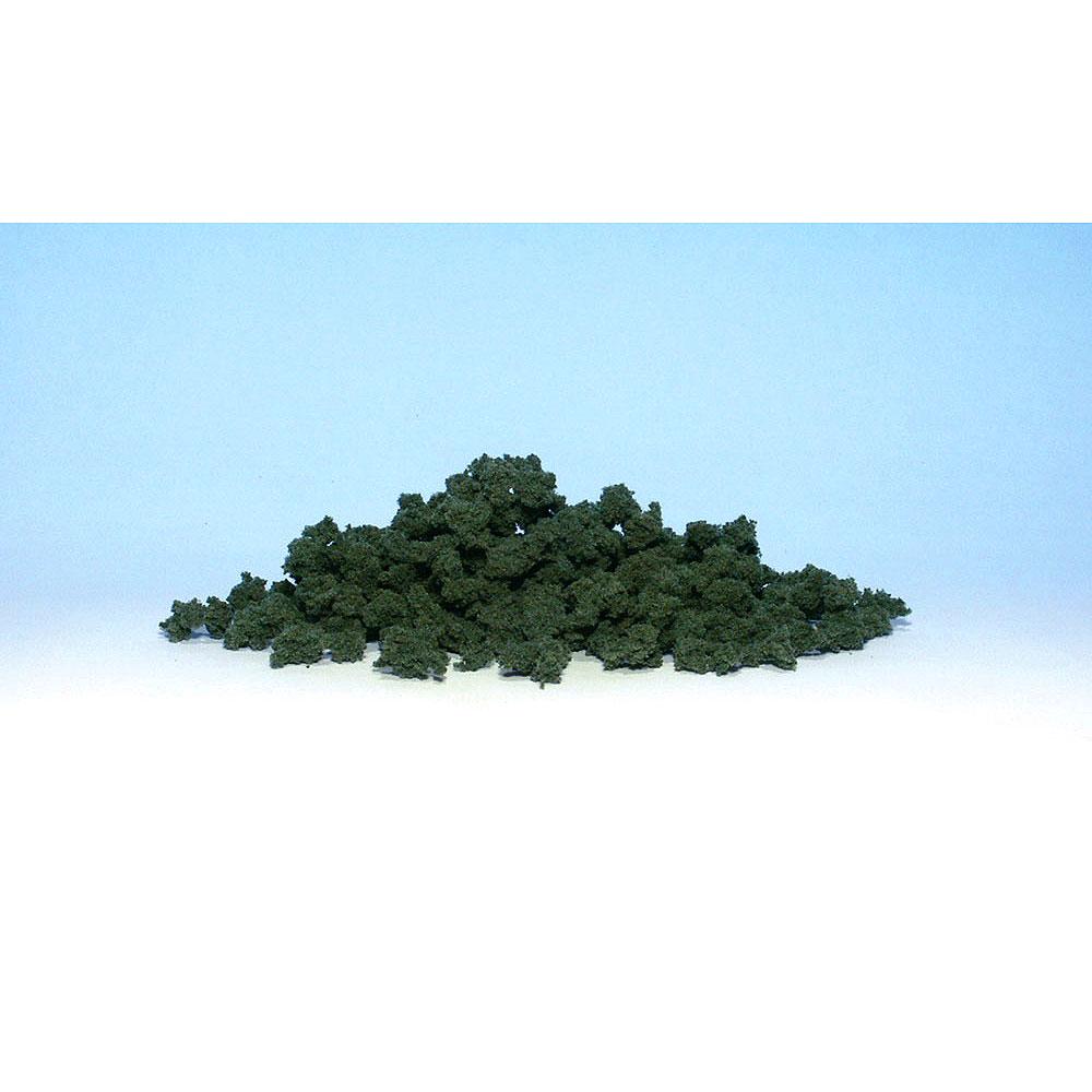 スポンジ系素材 【ブッシュ】 ダーク・グリーン(深緑) :ウッドランド 素材 ノンスケール FC147
